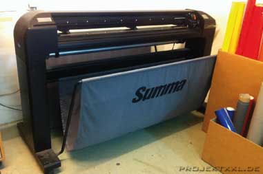 Summa-Cut-Plotter